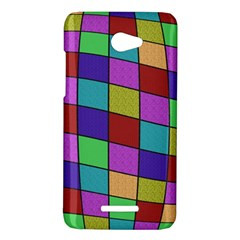 Colorful cubes  HTC Butterfly X920E Hardshell Case
