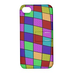Colorful cubes  Apple iPhone 4/4S Hardshell Case with Stand