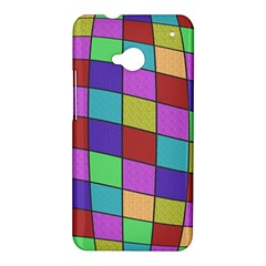 Colorful cubes  HTC One M7 Hardshell Case