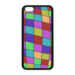Colorful cubes  Apple iPhone 5C Seamless Case (Black)