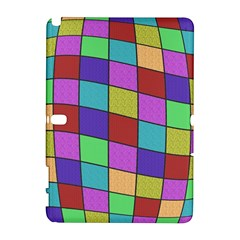 Colorful cubes  Samsung Galaxy Note 10.1 (P600) Hardshell Case