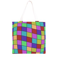 Colorful cubes  Grocery Light Tote Bag