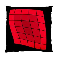 Red abstraction Standard Cushion Case (Two Sides)