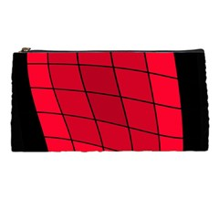 Red abstraction Pencil Cases