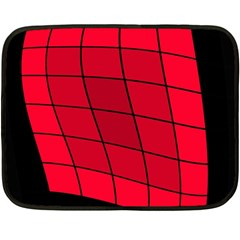 Red abstraction Double Sided Fleece Blanket (Mini)