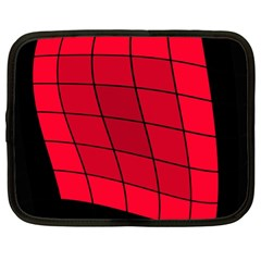 Red abstraction Netbook Case (XL)