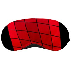 Red abstraction Sleeping Masks