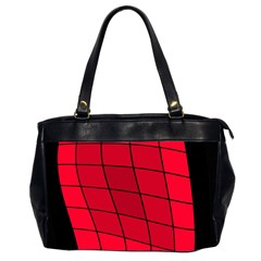 Red abstraction Office Handbags (2 Sides)
