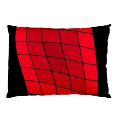 Red abstraction Pillow Case (Two Sides)