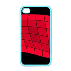 Red abstraction Apple iPhone 4 Case (Color)