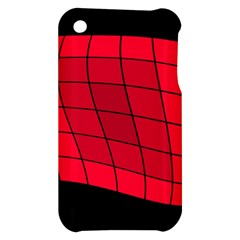 Red abstraction Apple iPhone 3G/3GS Hardshell Case