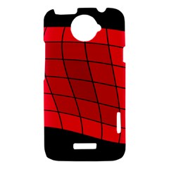 Red abstraction HTC One X Hardshell Case