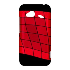 Red abstraction HTC Droid Incredible 4G LTE Hardshell Case