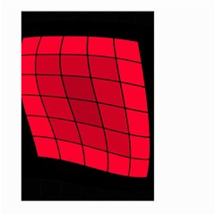 Red abstraction Large Garden Flag (Two Sides)
