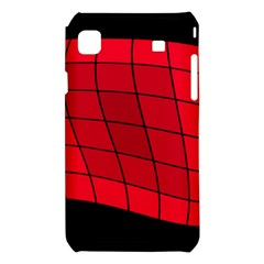 Red abstraction Samsung Galaxy S i9008 Hardshell Case