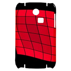 Red abstraction Samsung S3350 Hardshell Case