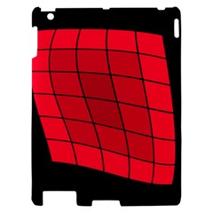 Red abstraction Apple iPad 2 Hardshell Case
