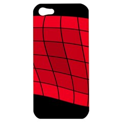 Red abstraction Apple iPhone 5 Hardshell Case