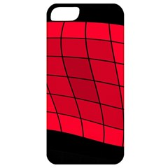 Red abstraction Apple iPhone 5 Classic Hardshell Case
