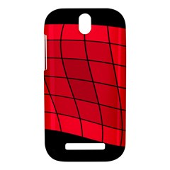 Red abstraction HTC One SV Hardshell Case