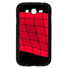 Red abstraction Samsung Galaxy Grand DUOS I9082 Case (Black)