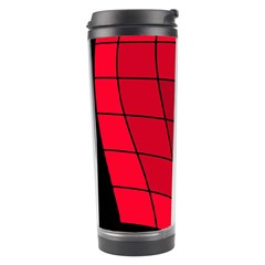 Red abstraction Travel Tumbler