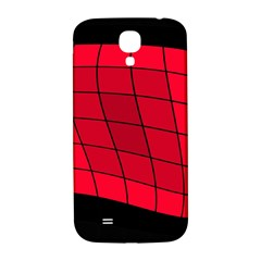 Red abstraction Samsung Galaxy S4 I9500/I9505  Hardshell Back Case