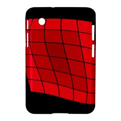 Red abstraction Samsung Galaxy Tab 2 (7 ) P3100 Hardshell Case