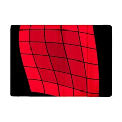 Red abstraction iPad Mini 2 Flip Cases
