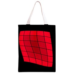 Red abstraction Classic Light Tote Bag
