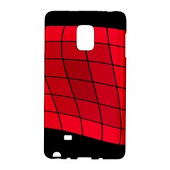 Red abstraction Galaxy Note Edge