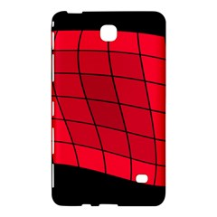 Red abstraction Samsung Galaxy Tab 4 (8 ) Hardshell Case