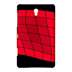 Red abstraction Samsung Galaxy Tab S (8.4 ) Hardshell Case