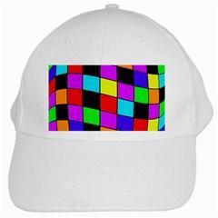 Colorful cubes  White Cap