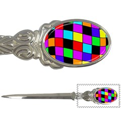 Colorful cubes  Letter Openers