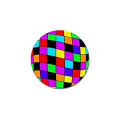 Colorful cubes  Golf Ball Marker (4 pack)