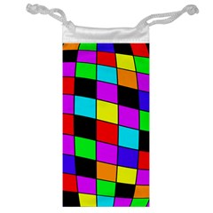 Colorful cubes  Jewelry Bags