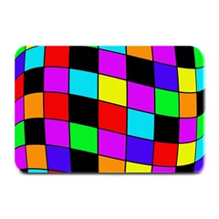 Colorful cubes  Plate Mats
