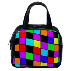 Colorful cubes  Classic Handbags (One Side)