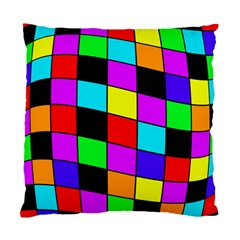 Colorful cubes  Standard Cushion Case (One Side)