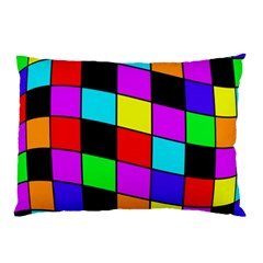 Colorful cubes  Pillow Case