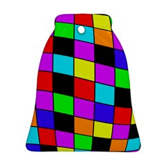 Colorful cubes  Bell Ornament (2 Sides)
