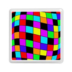 Colorful cubes  Memory Card Reader (Square)