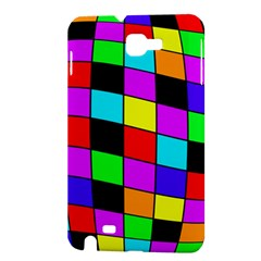 Colorful cubes  Samsung Galaxy Note 1 Hardshell Case