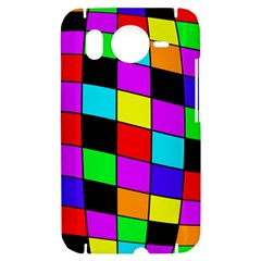 Colorful cubes  HTC Desire HD Hardshell Case