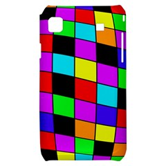 Colorful cubes  Samsung Galaxy S i9000 Hardshell Case