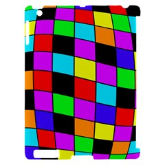 Colorful cubes  Apple iPad 2 Hardshell Case (Compatible with Smart Cover)