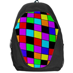 Colorful cubes  Backpack Bag
