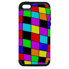Colorful cubes  Apple iPhone 5 Hardshell Case (PC+Silicone)