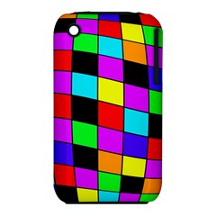 Colorful cubes  Apple iPhone 3G/3GS Hardshell Case (PC+Silicone)